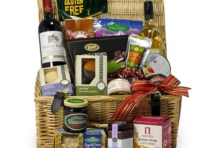 Luxury gluten free hamper from glutenfreehampers.co.uk