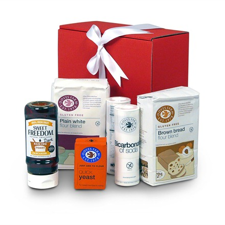 Gluten free bakers essential gift basket
