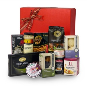 Gluten free sweet and savoury hamper