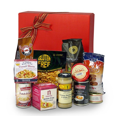 Gluten free savoury selection Christmas hamper