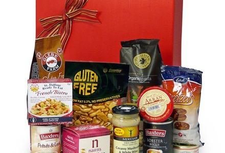 Gluten free savoury selection Christmas hamper