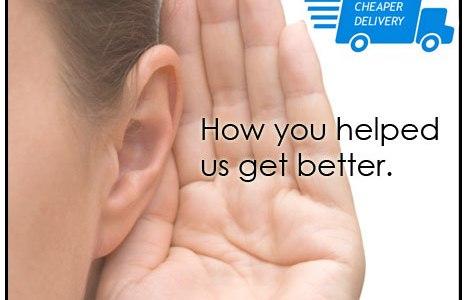 Listening to customer feedback
