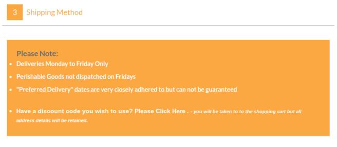Have a discount code screenshot